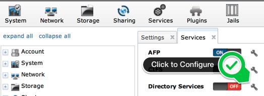 configure-directoryservices